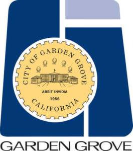 City Seal for Garden Grove Biard and Crockett